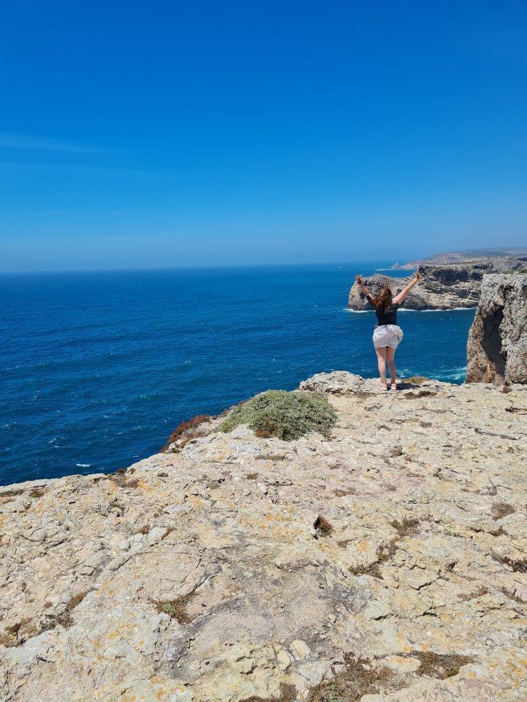 Cabo de Sao Vicente tijdens een reis naar de Algarve vanuit Porto