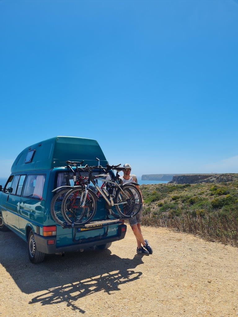 Met de camper reizen naar de Algarve vanuit Porto