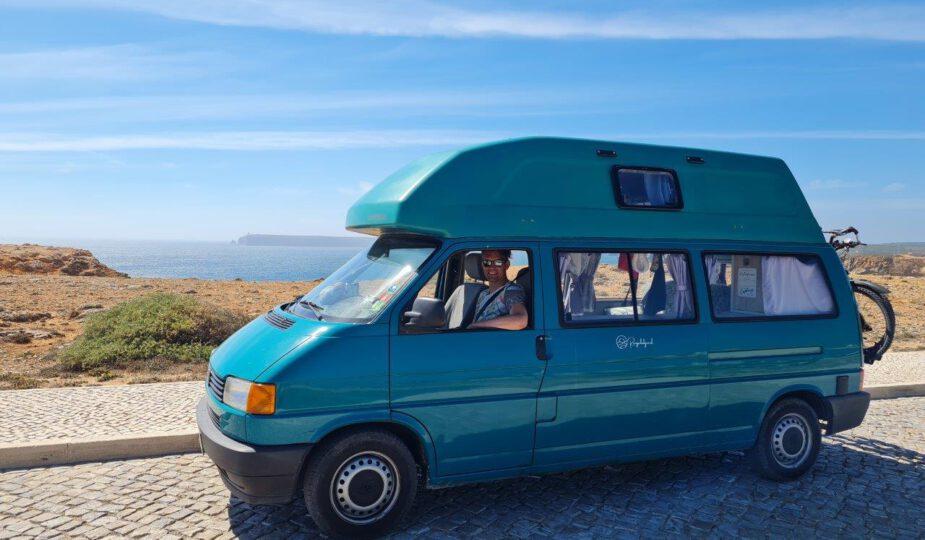 Met camper reizen naar de Algarve vanuit Porto