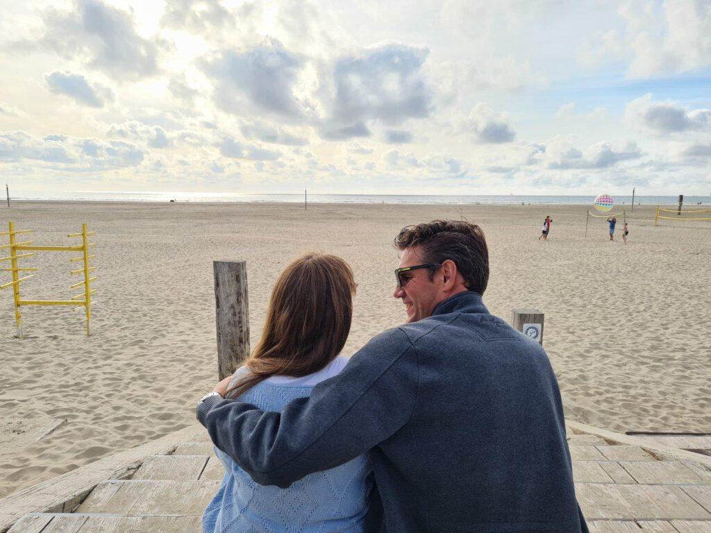 Genieten aan het strand van IJmuiden